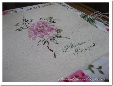 Роза Тереза букет 003