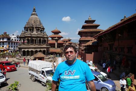 Obiective turistice Nepal: Piata centrala din Patan