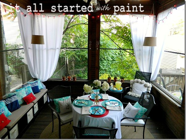 screen_porch_blue_turquoise_red_white