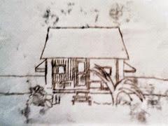 maids cottage print