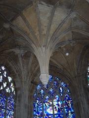 2006.08.25-015 clef de voute dans l'église Notre-Dame