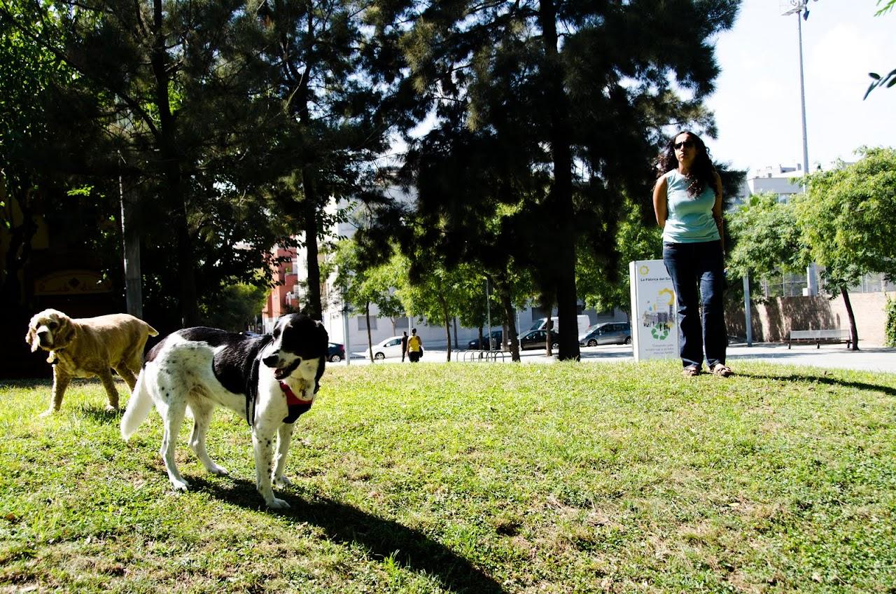 Us at Parc de la Barceloneta