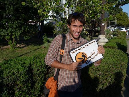 Tur gratuit Bucuresti: Mihai ghidul din Bucuresti
