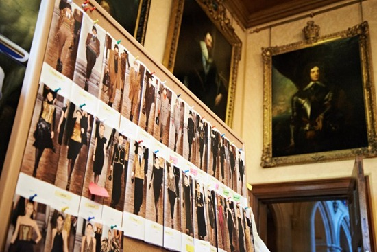 ralph lauren downton abbey highclere castle lookboard