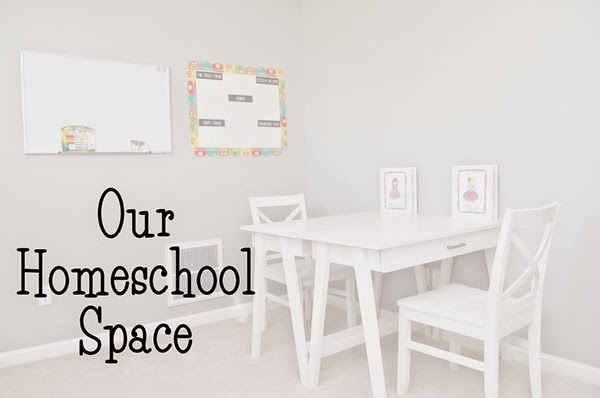 Our Homeschool Space