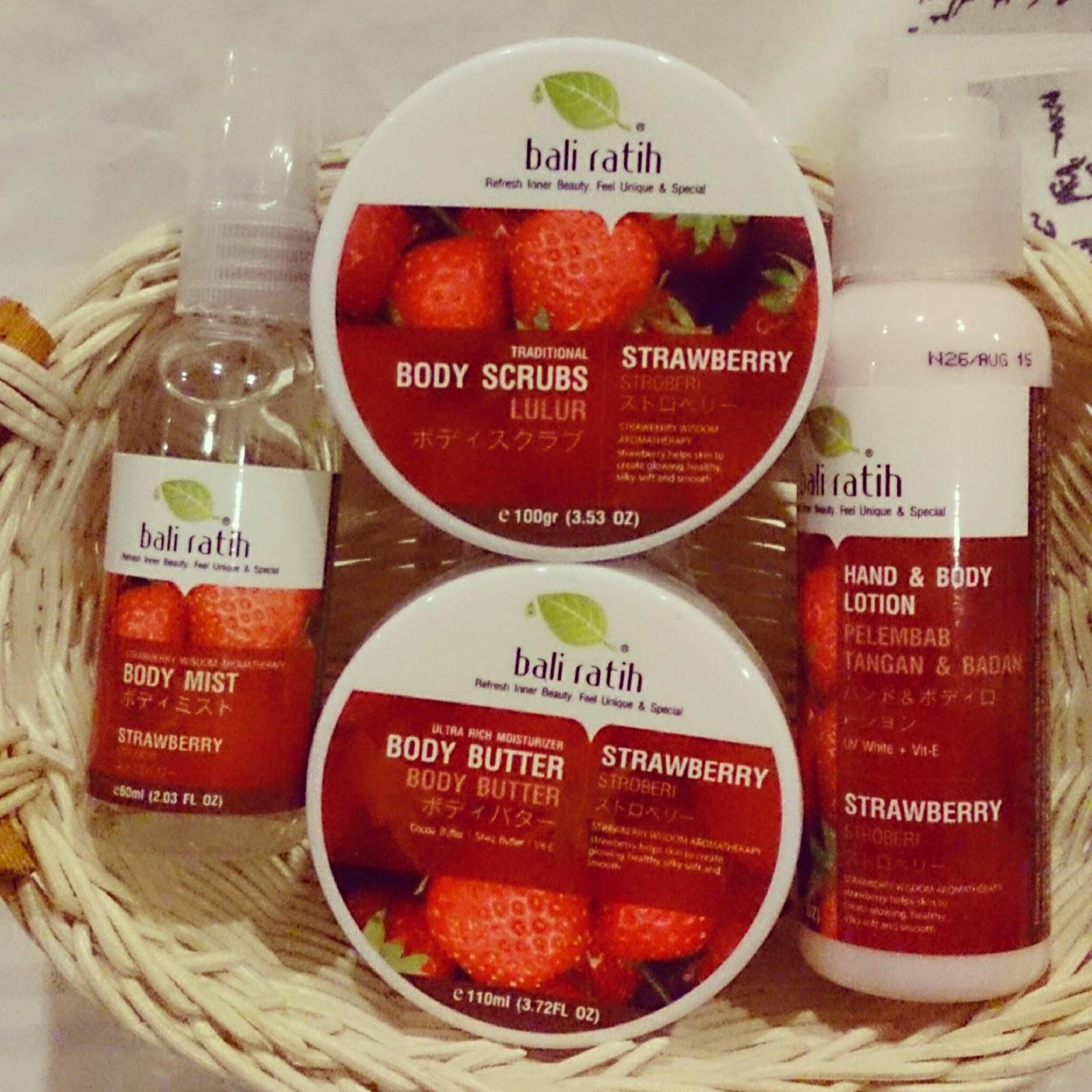 Bali Ratih Set Strawberry Lulur Malaysia Body Lotion Enjoy The Benefit Of On Care
