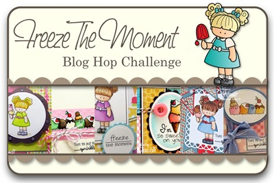 Freeze The Moment Blog Hop Challenge