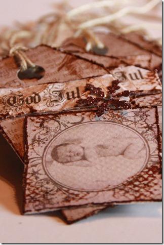 håndlagede merkelapper jul julegaver diy vintage IMG_5520