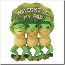 frog welcome2