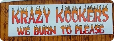 krazy kookers sign