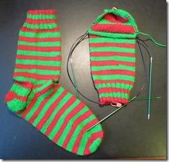 Christmas 2012 Sock 2