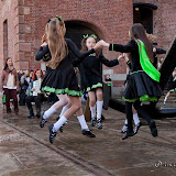 LIF'12 -5 Irish Dancers Performance outside the Maritime Museum