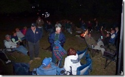 Campfire at Huntington Beach SP-Murrells Inlet SC