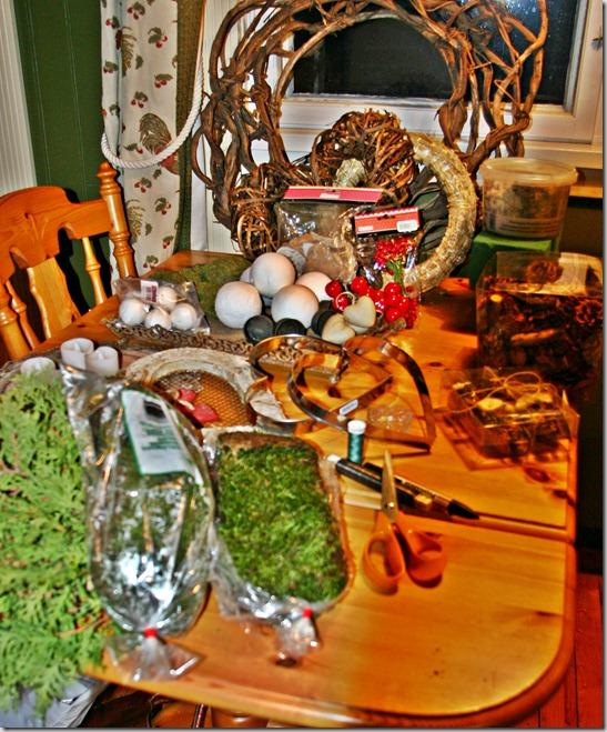 kjøkkenbord dekorasjoner1