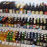 beers at a supermarket in Roppongi - I found my favorite beer: Edelweiss in Tokyo, Tokyo, Japan