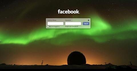 Nuevo diseño en la página de incio de Facebook