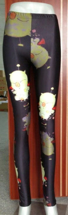 Final Fantasy Moogle Leggings from XsBoutique