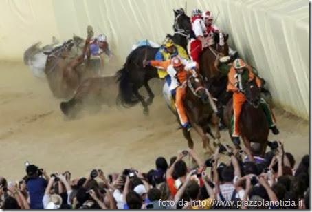 Metafora cavallo corsa