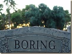 boring