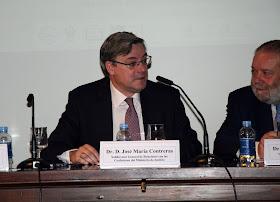 Dr. D. José María Contreras (Subdirector General de Relaciones con las Confesiones del Ministerio de Justicia)