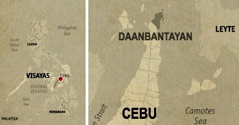 Daanbantayan Location Map