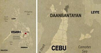 Daanbantayan Location Map