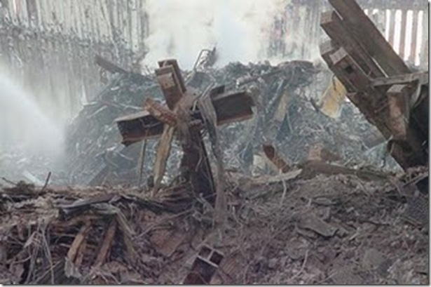 World Trade Center 9-11 cross 1