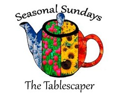 Seasonal Sunday - the tablescaper