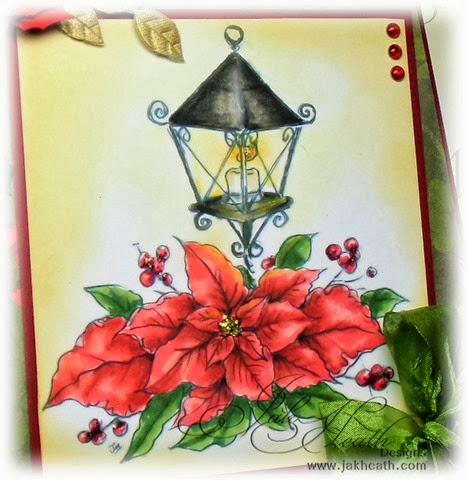 Poinsettia Lamp2
