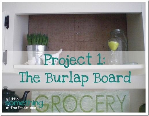 The Burlap Board - banner