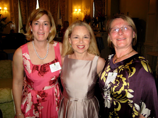 Co-President Sarah Monaco, Executive Committee Member Maureen O'Hara, and Co-President Jackie Blombach