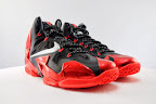 nike lebron 11 gr black red 5 07 New Photos // Nike LeBron XI Miami Heat (616175 001)