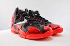 nike lebron 11 gr black red 5 07 New Photos // Nike LeBron XI Miami Heat (616175 001)