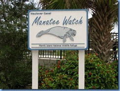 7804 Courtenay Parkway (State Road 3), Merritt Island Wildlife Refuge, Florida - Manatee Observation Deck