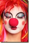 make up clown