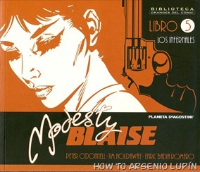 P00005 - Modesty Blaise #5