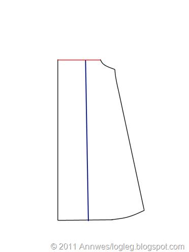 A_form med berestykke_delt skjort vertikalt