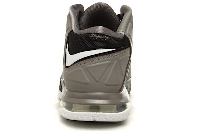 nike air max ambassador 5 gr black grey white 1 05 Nike Ambassador V   Black / White / Sport Grey