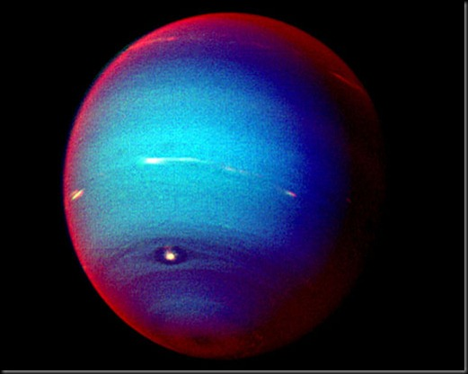 NH voyager 2 image of Neptune