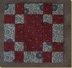 Cross Squares Block
