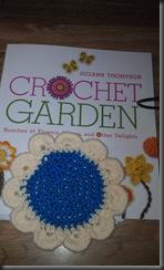 crochet garden flower