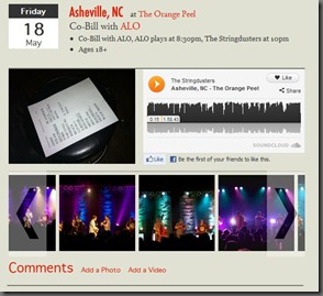 "Stringdusters Launch ""Archive"""