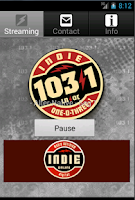 Screenshot of indie 103.1