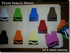 paint sample match