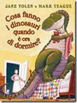 cosa fanno i dinnosauri quando è ora di dormire