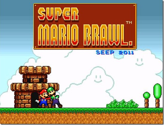 Super Mario Brawl freeware game (8)