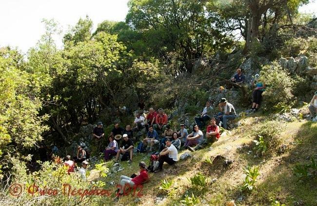 Φωτογραφίες από τη διαδρομή του Ορειβατικού Συλλόγου Αντίσαμος-Πόρος