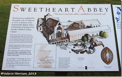 2-Sweetheart-Abbey-info-board