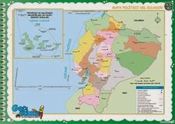 111 - Mapa Político del Ecuador