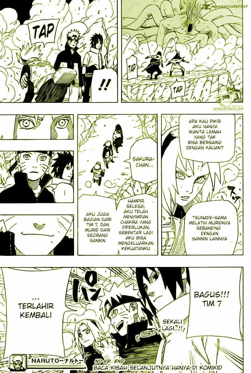 Baca juga : Komik Manga Naruto Chapter 631 Versi Teks Bahasa Indonesia